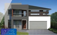 Lot 2115 Barrallier Dr, Marsden Park NSW