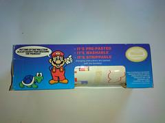 North American Decorative Products Super Mario Bros Nintendo Wall Trim 24 (gamescanner) Tags: north american decorative products super mario bros nintendo wall trim covering walltrim decor sculpted vinyl border upc 058559709011 058559709035 rosewall inc 1989 sku 70902