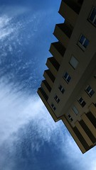 (Endrit Mazreku) Tags: falling iss building blue earth sky