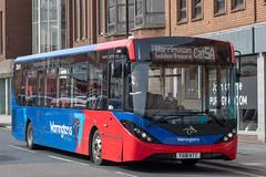 Warrington's Own Buses YX18KTT (Mike McNiven) Tags: warringtonsownbuses networkwarrington warrington altrincham interchange alexanderdennis enviro200 enviro200mmc mmc stamfordnewroad adlenviro200 cheshirecat cheshire cat cheshireeast