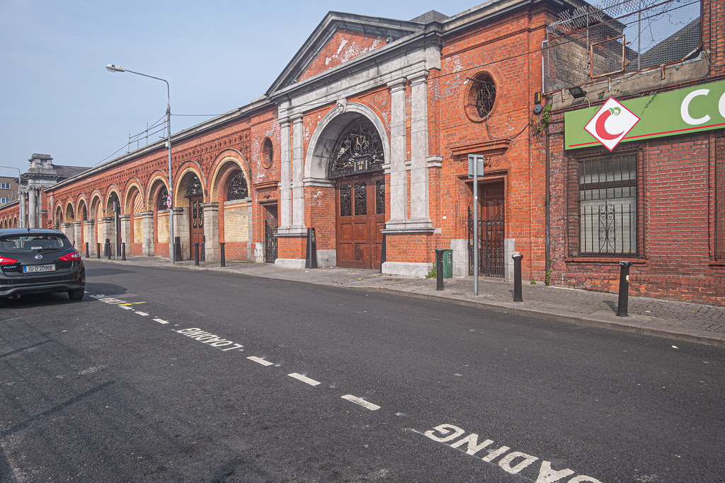 REDEVELOPMENT ONGOING AT THE DUBLIN CITY FRUIT AND VEGETABLE MARKET [PHOTOGRAPHED APRIL 2019]-151470