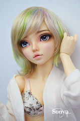 DSC_2141 (sonya_wig) Tags: fairytreewigs wig bjdwig minifeewig bjd bjdminifee minifeechloe handmadedoll bjddoll dollphoto fairyland fairylandminifee minifee chloe bjdphotographycoloringhair