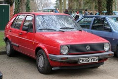E629 YGS (1) (Nivek.Old.Gold) Tags: 1987 volkswagen golf cl 4e 5door 1595cc munnchapman littlechalfont