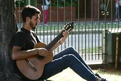 Guitarrista (leograttoni) Tags: joven guitarrista muchacho guitarra folclore música laplata buenosaires