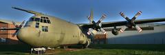 Lockheed Hercules C130K Mk3 (XV202) (Bri_J) Tags: rafmuseum cosford shropshire uk airmuseum aviationmuseum museum nikon d7500 aircraft lockheed hercules c130k lockheedhercules panorama transporter raf xv202