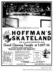 1941 Hoffman's Skateland grand opening (albany group archive) Tags: albany ny history 1941 hoffmans skateland grand opening central avenue 1940s old photo photos photograph pciture pictures historic hidtorical vintage