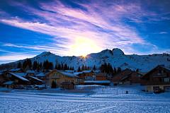 3012 Pras de Lys promenade (sebastien.demotier) Tags: pras de lys taninge hautesavoie france montagne mountain snow neige ciel bleu blue sky