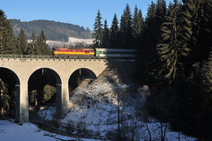 31. prosinec 2008: Nefotitelnej vlak/Trainspotter's Hell (jetebe.cz) Tags: bardotka 749 šumava vimperk kubova huť silvestr