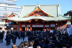 Crowds at Kanda-myōjin shrine