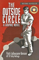 The Outside Circle (Vernon Barford School Library) Tags: pattilaboucanebenson patti laboucanebenson laboucane benson canada canadian indigenous poverty exgangmembers gangs gangmembers rehabilitation healingcircles reconciliation graphic novel novels graphicnovel graphicnovels cartoons comics youngadult youngadultfiction ya fnmi firstnations nativepeople nativepeoples native aboriginal vernon barford library libraries new recent book books read reading reads junior high middle vernonbarford fiction fictional paperback paperbacks softcover softcovers covers cover bookcover bookcovers 9781770899377