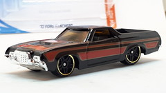 HOT WHEELS 1972 FORD RANCHERO NO4 1/64 (ambassador84 OVER 11 MILLION VIEWS. :-)) Tags: hotwheels ford 1972fordranchero diecast