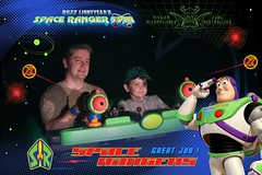 Florida Day 3 - The Magic Kingdom Buzz Lightyear Space Ranger Spin Photopass 03 (TravelShorts) Tags: walt disney world wdw magic kingdom be our guest beast food tiana rapunzel characters buzz lightyear space ranger spin light year seven dwarfs mine train photopass maker ariel princess fairytale hall haunted mansion