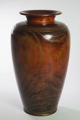 Coloured Ash  ...wooden hollow vessel
