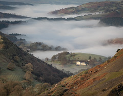Prime Location (Rob Pitt) Tags: castell dinas bran llangollen mist north wales cymru mountain sony a7rii canon 70200 f4 l