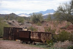 Goldfield12 (ONE/MILLION) Tags: vacation travel tours visit old history mine mining town gold goldfield arizona church railroad cross rust rusty saguaro cactus williestark onemillion horse blue sky outdoors mountains superstition lost dutchman bell flowers cowboys