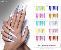 LEVEL | January 30th (Kah Melody | ASCENDANT) Tags: ascendant bento nails maitreya slink belleza level neon