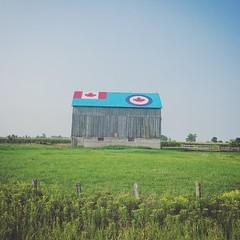 Kincardine, ON (jessalynn_sammons) Tags: iphone kincardine ohcanada canada canadianairforce airforce barn