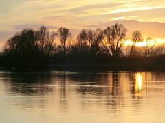 Sonnenuntergang an der Weser (Phirasaphilo) Tags: bremen werser sonnenuntergang sunset solnedgång solnedgang coucherdesoleil dämmerung dawn abenddämmerung abendhimmel weser