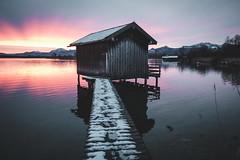 Chiemsee Bavaria (Sunny Herzinger) Tags: chiemsee dedeutschland sunrise europa chiemgau mountains bavaria herkunft lake bayern alps weitsee rimsting germany de