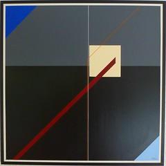 WEG 2  2018 (HolgerArt) Tags: konstruktivismus gemälde kunst art acryl painting malerei farben abstrakt modern grafisch konstruktiv