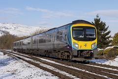20190202_IMG_1818 (PowerPhoto.co.uk) Tags: transpennineexpress tpe class185 dieselmultipleunit dmu 185140 chinley chinleynorthjunction 1b74 train railway winter snow sunshine