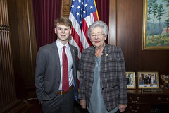 Photo op with YMCA Youth Governor  45