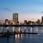 Boston Skyline - Cambridge - Blue Hour thumbnail