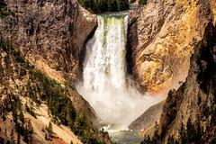 Yellowstone Falls (J Price - Alabama) Tags: yellowstone falls yellowstonenationalpark beautiful water waterfall nationalpark nationalparks fujixt2 fuji fujifilm 55200