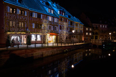 Ghosts of Christmas Past (craigcallagher) Tags: colmar christmas lights street medieval fairytale market