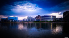 Tempe Town Lake, Arizona (Ken Mickel) Tags: arizona cityscape clouds cloudscape cloudy kenmickelphotography lake lakes landscape outdoors sky tempe tempetownlake waterscape weather architecture nature photography water