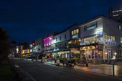 Torquay bars (Roger.C) Tags: bars pubs night nightshot evening torquay devon riviera bluehour longexposure neon colourful colours nightout torbay nikon d610 tamron 2470 illuminated town tourism