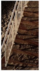 stairs by the beach (regis.creignou) Tags: stairs beach sand plage escalier sable ombres shadows