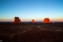 Lousy Smarch Weather #8: Monument Valley (MikeWeinhold) Tags: lousysmarchweather monumentvalley utah buttes southwest landscape sunset