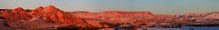Panorama Sandstone Mountain-Hurricane Flats-Zion Utah (left to right) (swissuki) Tags: zion nature national park snow landscape hurricane ut utah usa