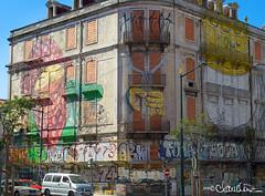 lisbon019 (by claudine) Tags: graffiti art creative airbrush urban osgemeos thetwins brothers otaviopandolfo gustavopandolfo mural