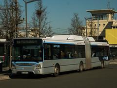 Iveco Urbanway 18 CNG 724 Cars d'Orsay, ligne 91.06, Massy (PR180R) Tags: iveco urbanway18 cng carsdorsay albatrans