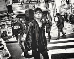 Tokyo Street (-Faisal Aljunied - !!) Tags: faisalaljunied ricohgr2 ricoh tokyostreet streetphotography tokyo japanese japan blackandwhitephotography