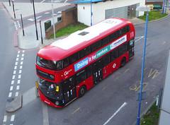 GAL LT301 - LTZ1301 - DEPTFORD DLR STATION - SUN 24TH MAR 2019 (Bexleybus) Tags: deptford bus station dlr broadway college wrightbus new routemaster nbfl boris borismaster goahead go ahead london tfl route 453 lt301 ltz1301