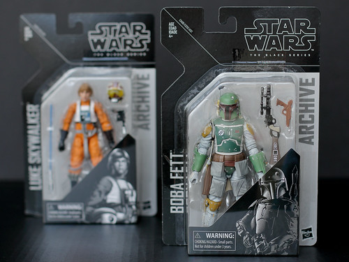 Boba Fett and Luke Skywalker