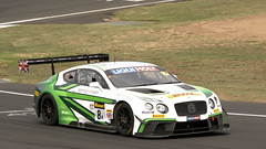 Big Bentleys @ Bathurst (1/2) (Jungle Jack Movements (ferroequinologist)) Tags: nikon bentley team motorsport m sport soucek soulet abril jarvis kane smith continental gt3 volkswagen twin turbu v8 murrays corner mount panorama bathurstnsw new south wales australia motor racing pass race speed car cars hottie track practice pole position times timing hard competition competitive event saloon sports racer driver mechanic engine oil petrol build fast faster fastest grid circuit drive helmet marshal starter sponsor number class classic