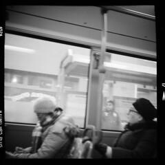 Stadt (tiltdesign2016) Tags: ilfordilfosol319 ilfordhp5400asa 400800 analogphotography bw adoxgolf63 canoncanoscan9000f mittelformat wuppertal elberfeld stadt street strase stroll bus