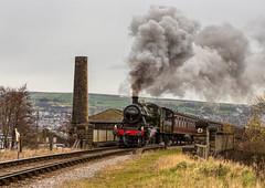KWVR Spring Steam Gala 8-3-2019 (KS Railway Gallery) Tags: kwvr spring gala uk steam ivatt 2 no46521 globe inn