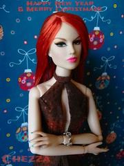 Merry Christmas and a Happy New Year (natickpanasiuk) Tags: theindustry integrity handnmade chezza dollsfashion fashiondolls newyear missbehave gavingrant