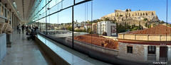Τhe View of the Acropolis through the windows the Acropolis museum, Athens, Greece, Europe (Violeta Meleti) Tags: acropolis acropolismuseum ancient architecture athens beautiful blue building buildings city cityscape civilisation civilization culture destination europe famous glass greece heritage hill historic historical history interior landmark landscape level mediterranean minimal modern monument mythology old panoramic people roofs sky stone time tourism touristic town travel urban view