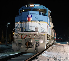 UP 4141 (Justin Hardecopf) Tags: up unionpacific 4141 emd sd70ace president george hw bush presidential library museum home plate display omaha nebraska railroad train