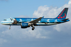 Brussels Airlines A320-214 OO-SNC (wapo84) Tags: belgianicons bru ebbr a320 oosnc brusselsairlines magritte