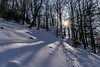 ... and on the path until you touch the sun (saga446) Tags: bulgaria winter snow mountain sun touch balkan