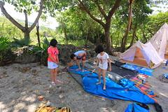 IMG_7367 (諾雅爾菲) Tags: taiwan camping 台灣 墾丁 露營 香蕉灣原始林露營區 熊帳 coleman 印地安帳
