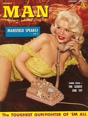 Jayne Mansfield - Modern Man (poedie1984) Tags: jayne mansfield vera palmer blonde old hollywood bombshell vintage babe pin up actress beautiful model beauty hot girl woman classic sex symbol movie movies star glamour girls icon sexy cute body bomb 50s 60s famous film kino celebrities filmstar filmster diva superstar amazing wonderful photo picture american love goddess mannequin black white blond sweater cine cinema screen gorgeous legendary iconic modern man mans magazine color colors covers boobs décolleté phone telefoon jurk dress speaks adult