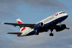 G-EUPV | Airbus A319-131 | British Airways (cv880m) Tags: osl oslo norway gardermoen airliner airline aircraft airplane ariport aviation jetliner geupv airbus a319 319100 319131 baw british britishairways